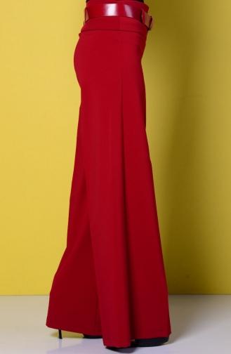 Claret red Broek 3069-09