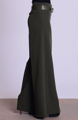 Pantalon Hijab 3069-14 Vert Khaki 3069-14