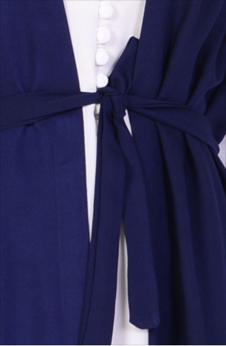 Navy Blue Gilet 4032-06
