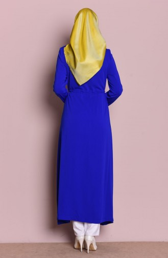 Saxon blue Abaya 35709-04