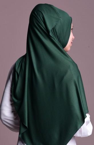 Dark Green Shawl 33