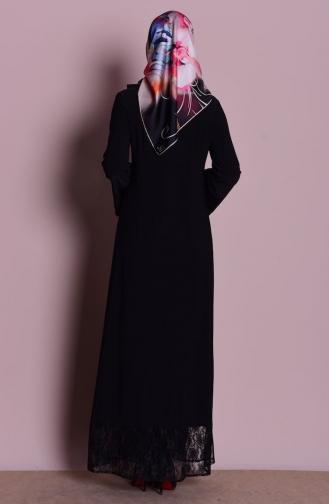 Black Abaya 0218-01