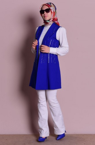 Saxon blue Gilet 0661-02
