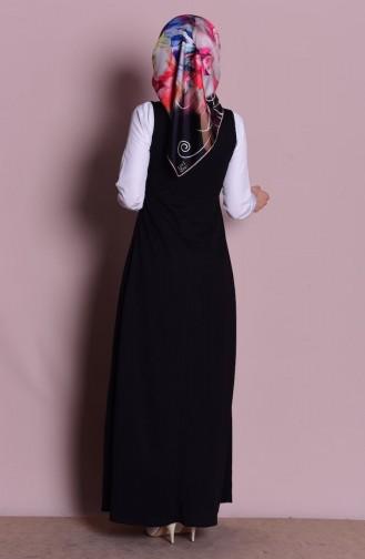فستان أسود 2115-05
