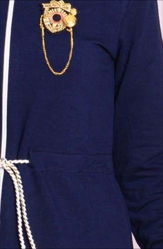 Navy Blue Mantel 0171-01