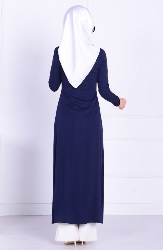 Navy Blue Tuniek 1822-01
