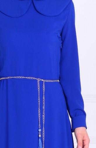 Saxon blue İslamitische Jurk 5050-02