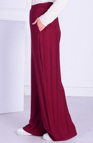 Claret red Broek 1005-06