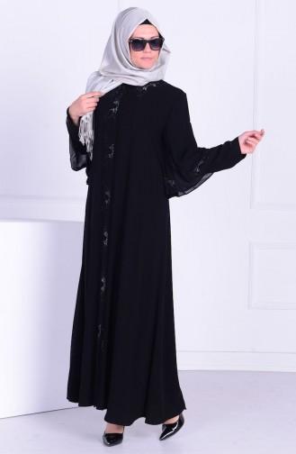 Black Abaya 0051-01