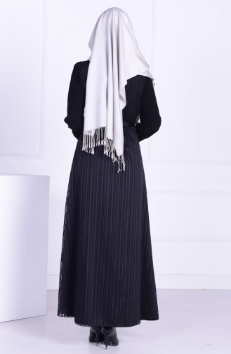 Black Abaya 1362-01