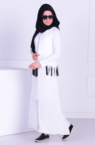 White Gilet 1002-01