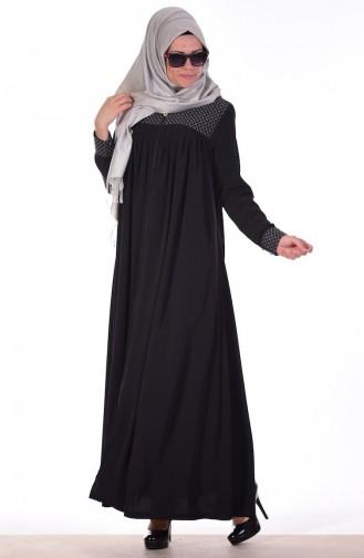Black Abaya 0742-01