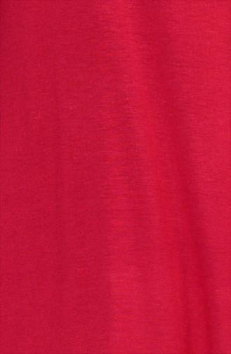 Claret red Tops 0728-12