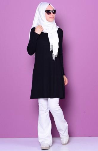 Black Combed Cotton 0728-03