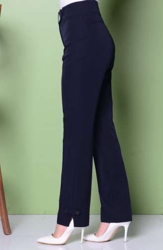Modèles de Pantalons 1039-02 Bleu Marine 1039-02