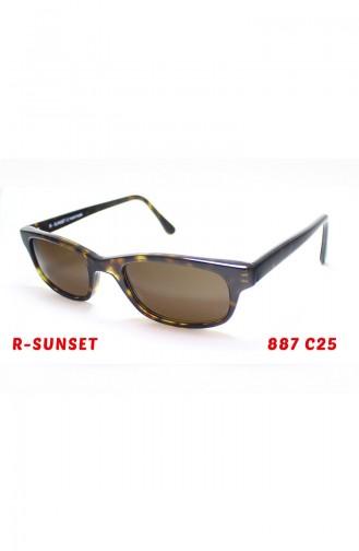 Sunset Güneş Gözlüğü 887C25 Yeşil 887C25