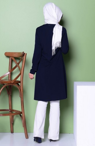 Navy Blue Tuniek 3053-04