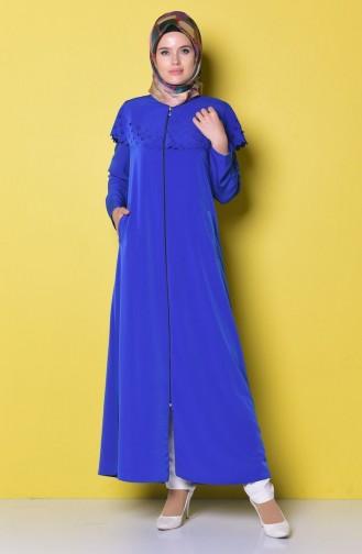 Saxon blue Abaya 3413-01