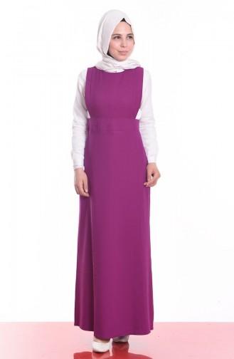 Purple İslamitische Jurk 0637-08