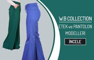WB Collection Etek ve Pantolon Modelleri