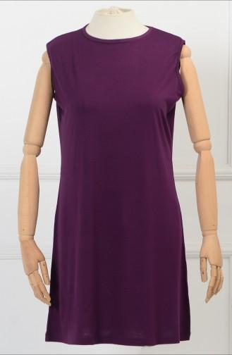 Dark Purple Tops 0735-11