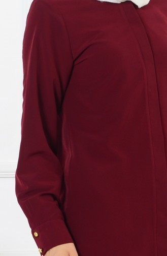 Claret red Tuniek 3039-08