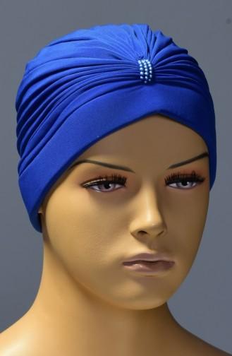 Bonnet éponge -03 Bleu Roi 03