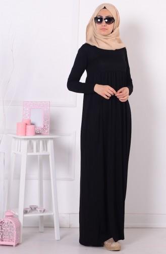 Robe 0729-01 Noir 0729-01