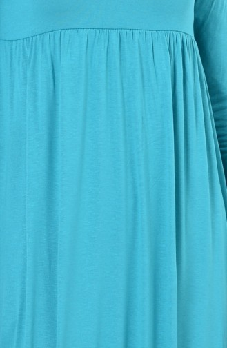 فستان أخضر فاتح 0729-06