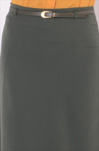 Kemerli Kalem Etek 2004-06 Haki Yeşil 2004-06