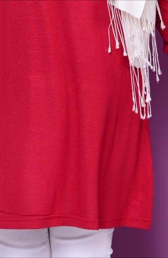 Claret red Tops 0730-04