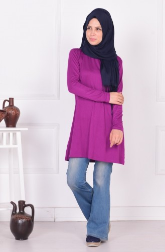 Light purple Combed Cotton 0728-18