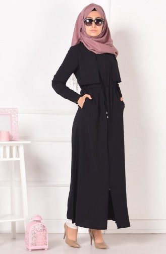 Black Abaya 1805-03