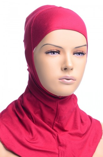 XL Bonnet Hijab 06 Bordeaux 02-06