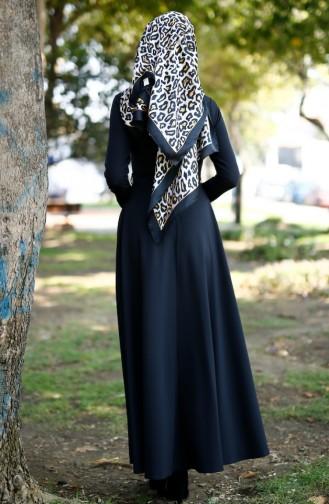 Black İslamitische Jurk 1071-03