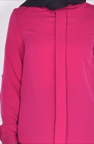 Fuchsia Blouse 4063-07