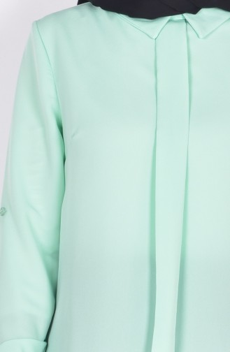Mint green Blouse 4063-09