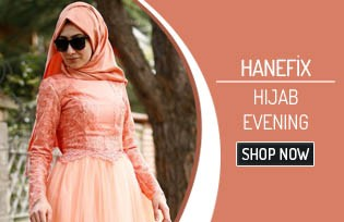 Hanefix Hijab Evening Dress Models