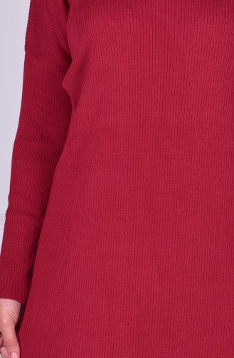 Claret red Tricot 3616-04