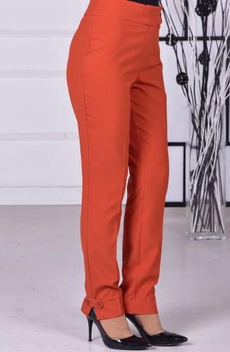 Pantolon Modelleri 1039-07 Kiremit 1039-07