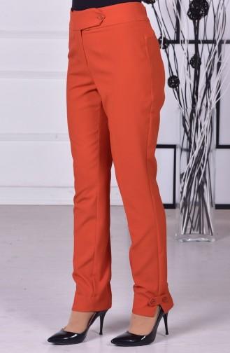 Modèles de Pantalons 1039-07 Brique 1039-07