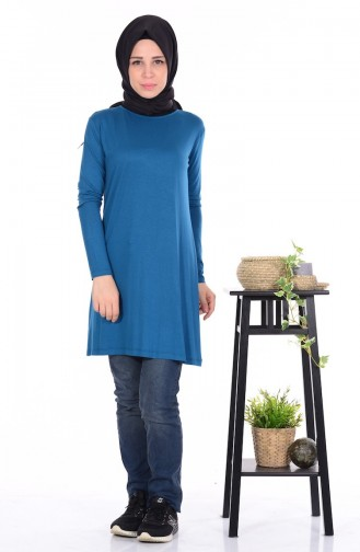 Oil Blue Combed Cotton 0728-20