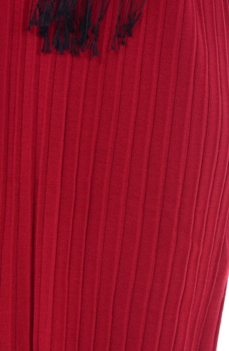 Long Pull Tricot 3816-01 Bordeaux 3816-01