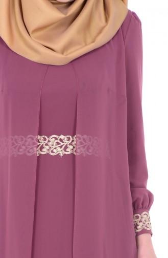 Hijab Kleid  FY 52221-17 Rosa 52221-17