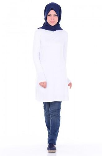 Body Islamique 0755-09 Blanc 0755-09