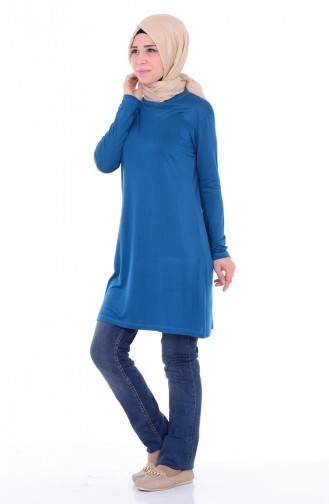 Oil Blue Tops 0755-07