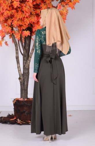 Emerald İslamitische Jurk 1032-03