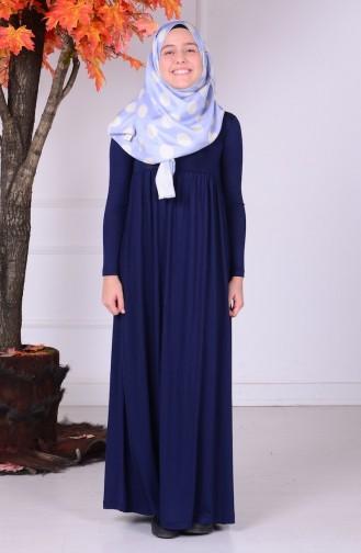 Hijab Kleid 0780-01 Dunkelblau 0780-01