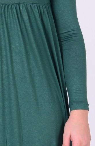 Robe Taille Jeune 0780-04 Vert emeraude 0780-04