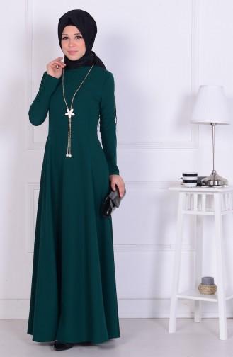 Emerald İslamitische Jurk 1075-03